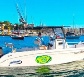 Fishing Sydney Tours Boat